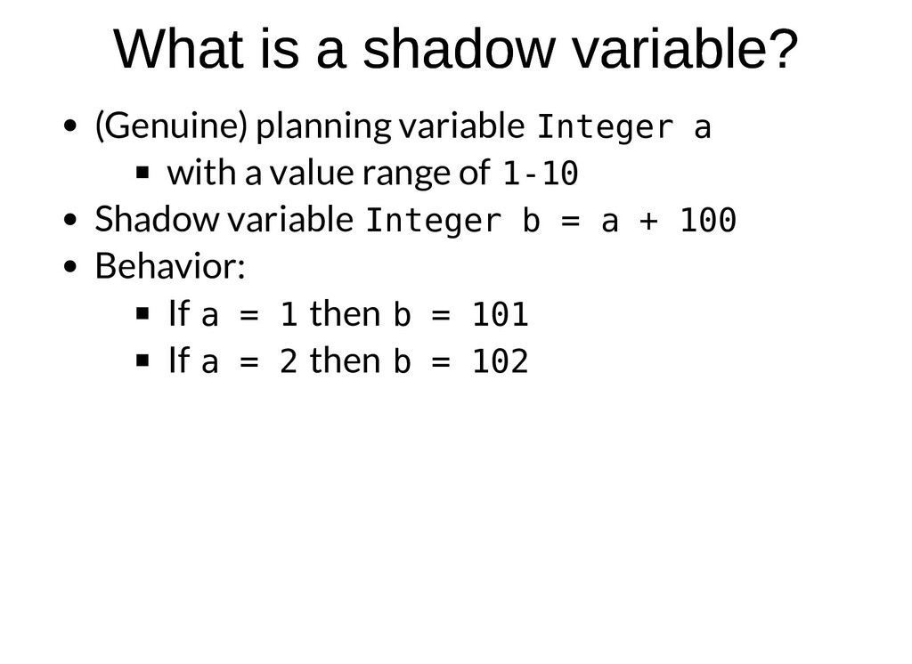 What is a shadow variable? What is a shadow var...