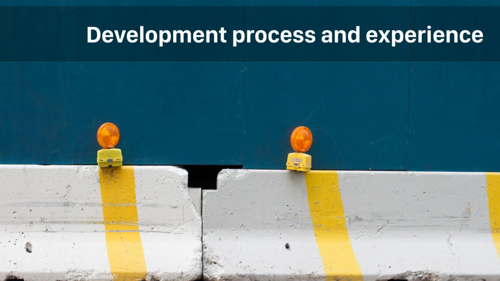 Development process and experience https://flic....