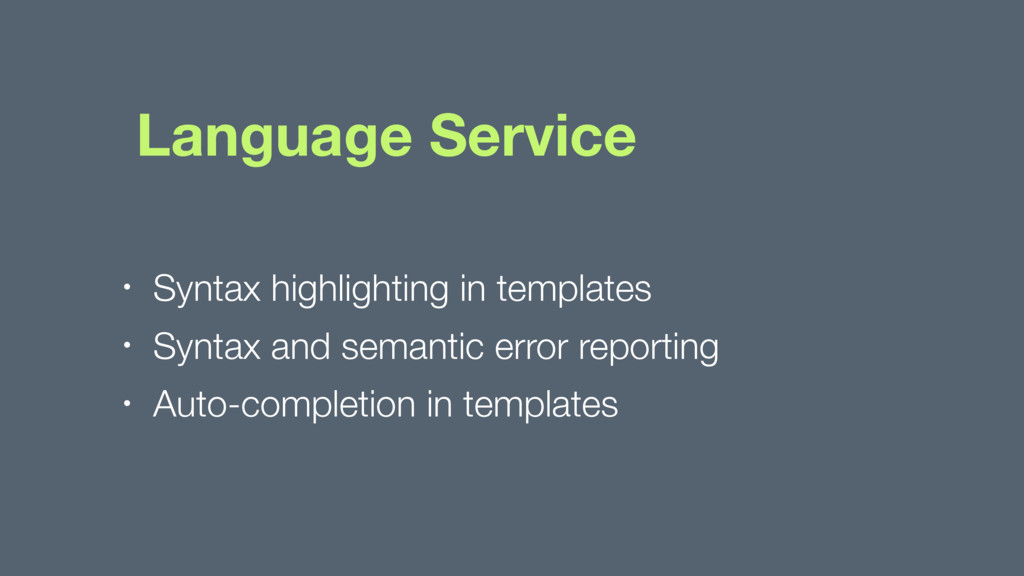 Language Service • Syntax highlighting in templ...