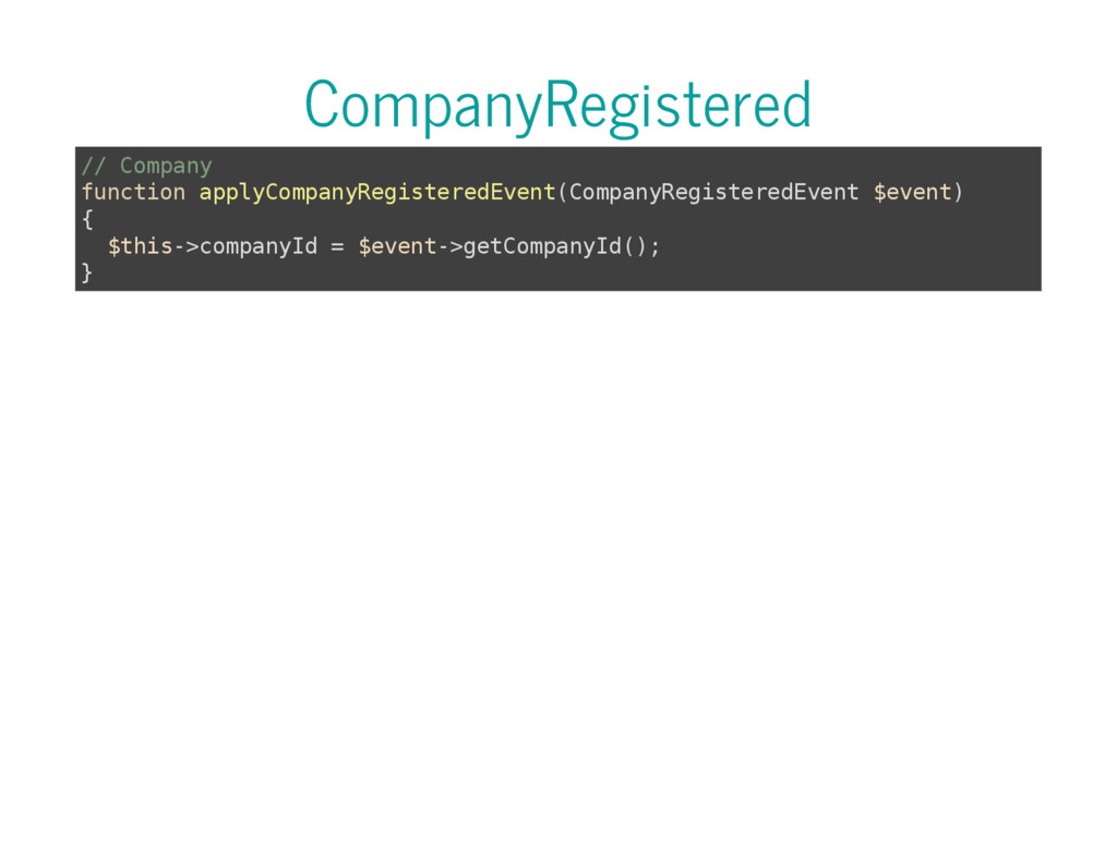 CompanyRegistered / / C o m p a n y f u n c t i...