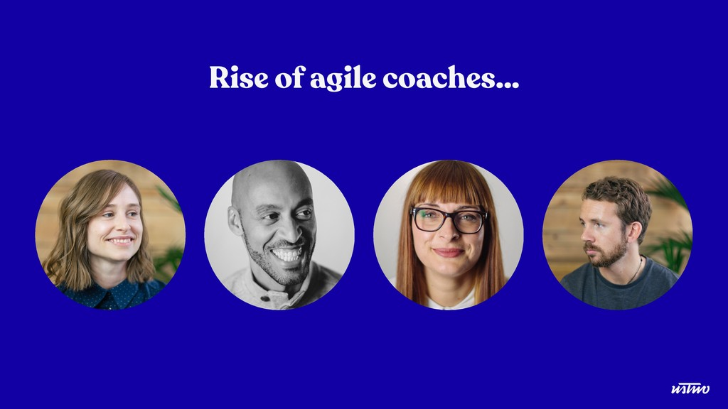 Rise of agile coaches…