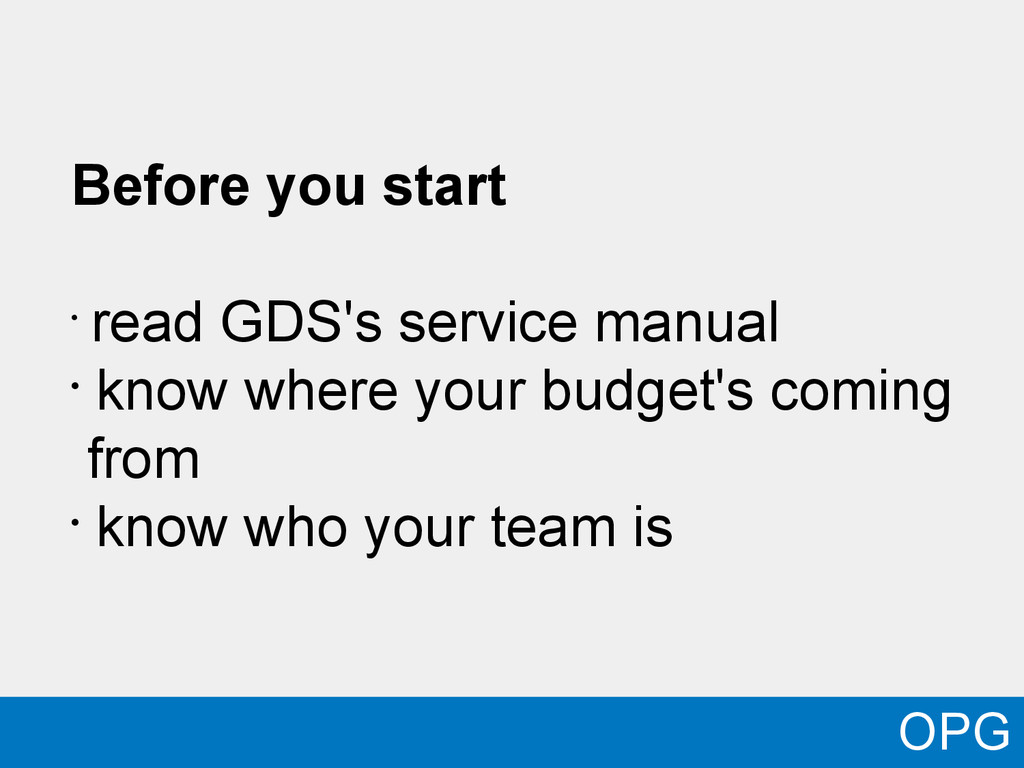 Before you start • read GDS's service manual • ...
