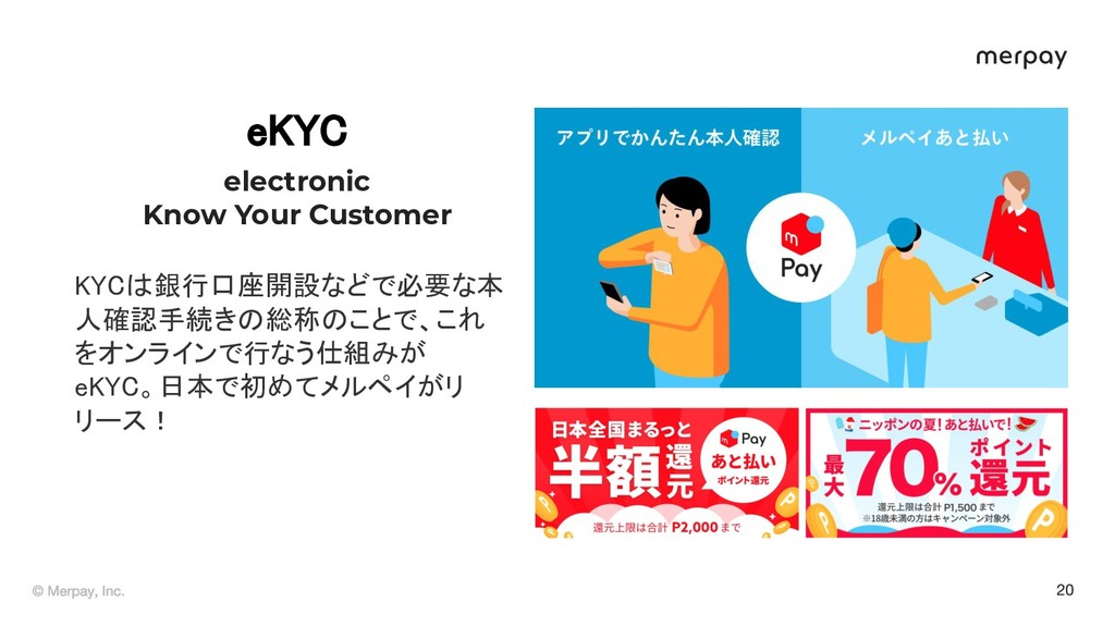 e C electronic Know Your Customer C 銀行口座開設などで...