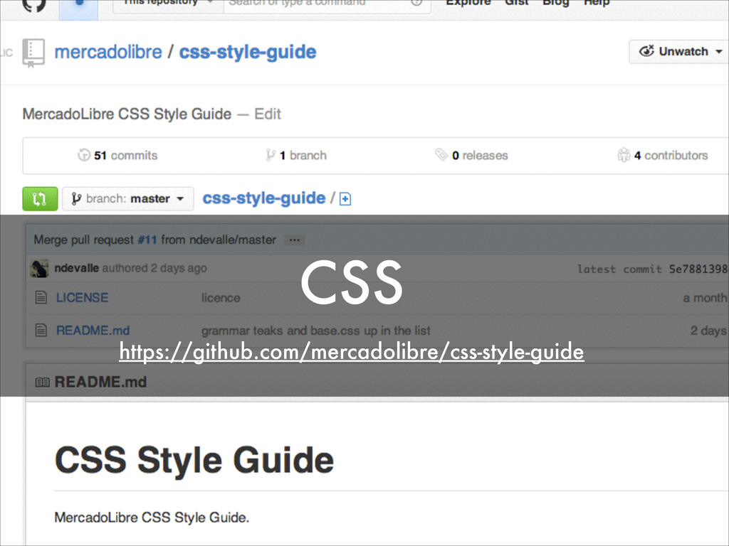 CSS https://github.com/mercadolibre/css-style-g...
