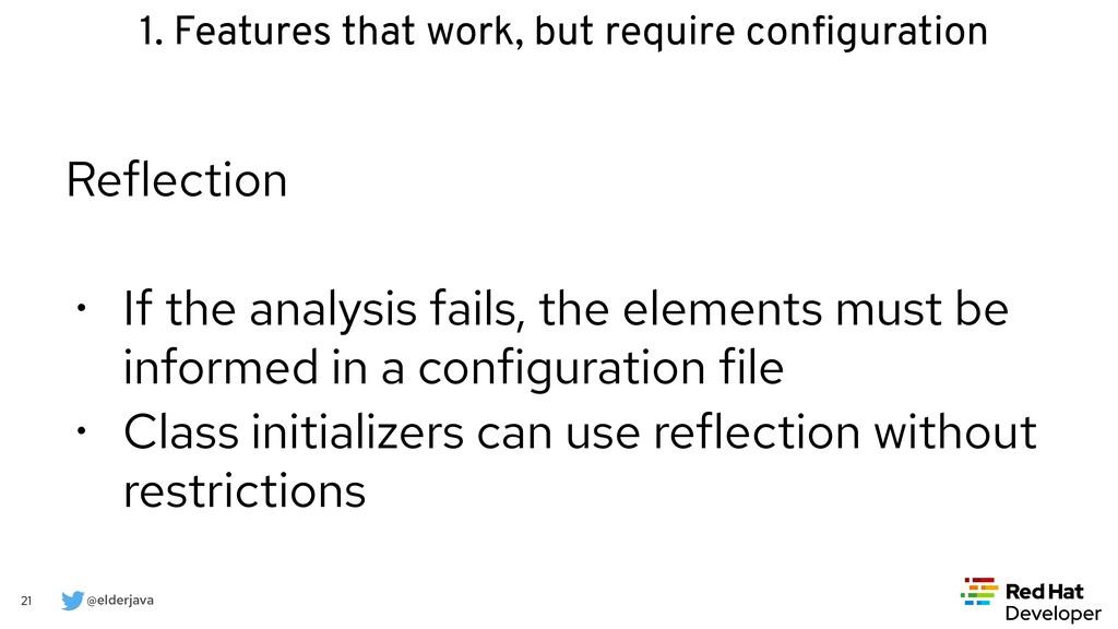 @elderjava 21 Reflection   • If the analysis fa...