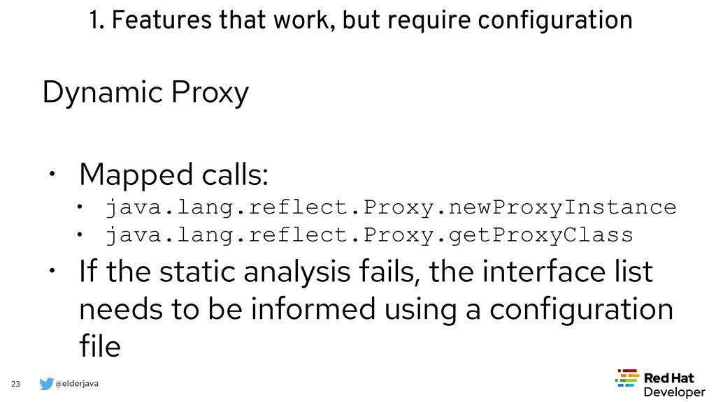 @elderjava 23 Dynamic Proxy   • Mapped calls:  ...