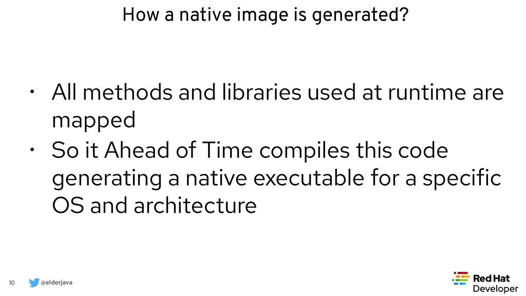 @elderjava 10 • All methods and libraries used ...