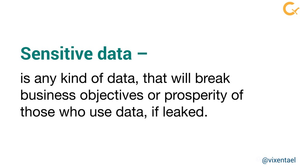 @vixentael is any kind of data, that will break...