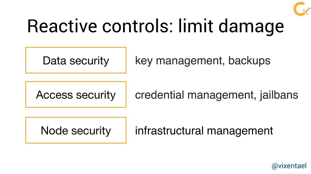 Data security key management, backups Access se...