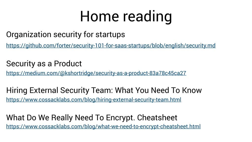 Home reading https://github.com/forter/security...