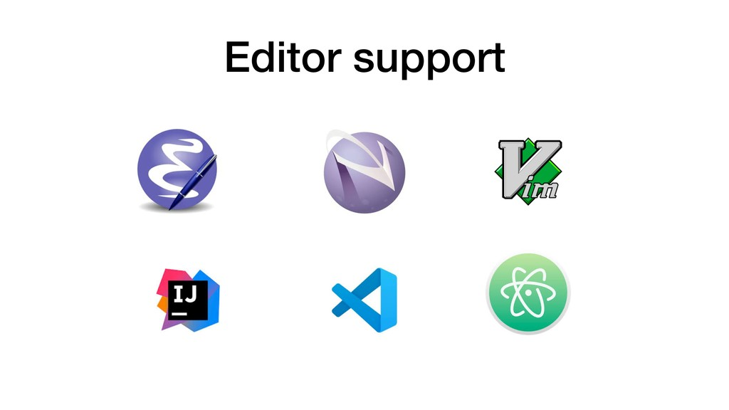 Editor support