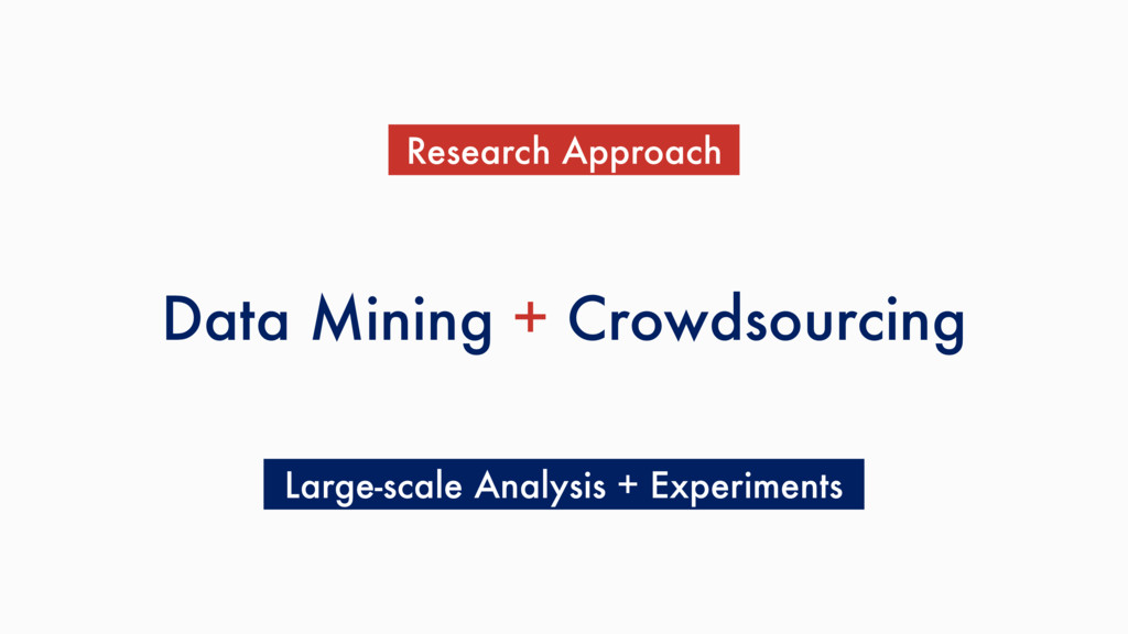 Data Mining + Crowdsourcing Research Approach L...