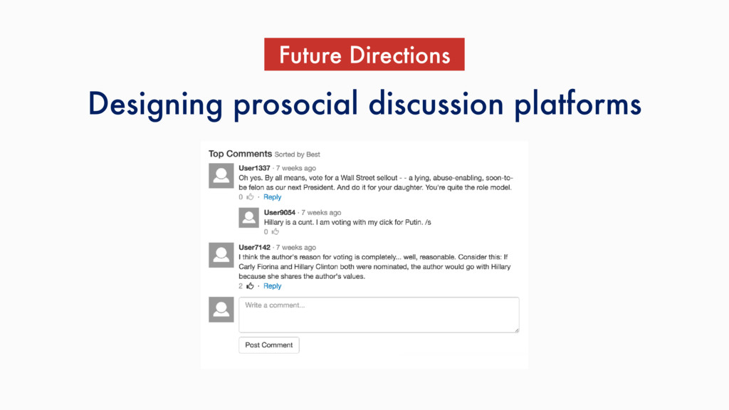 Designing prosocial discussion platforms Future...