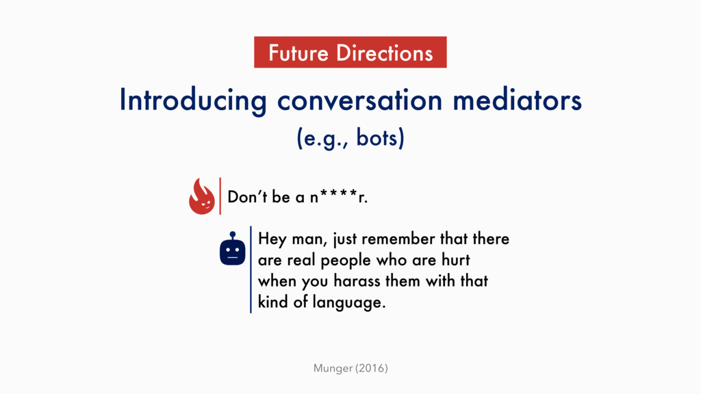 Munger (2016) Introducing conversation mediator...
