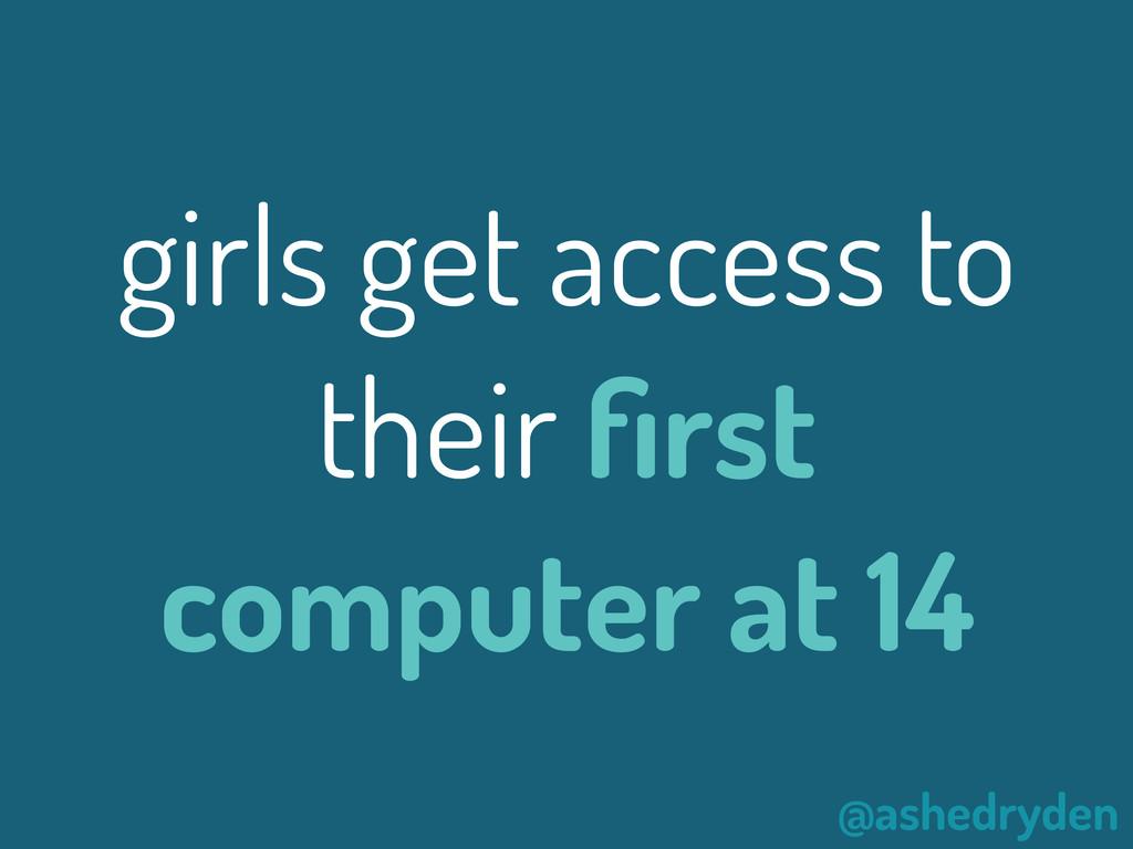 @ashedryden girls get access to their first comp...