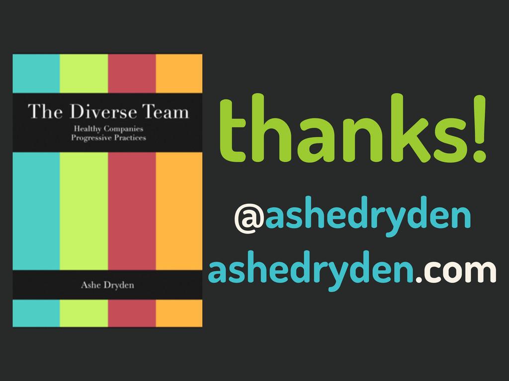 @ashedryden thanks! @ashedryden ashedryden.com