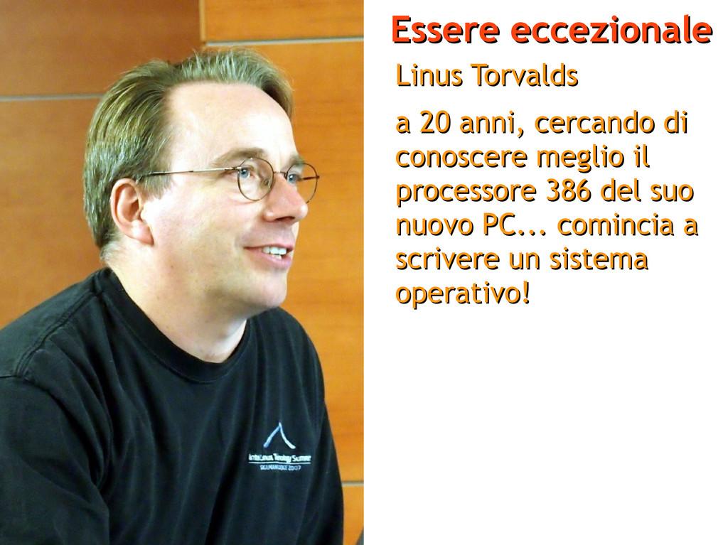 Essere eccezionale Essere eccezionale Linus Tor...