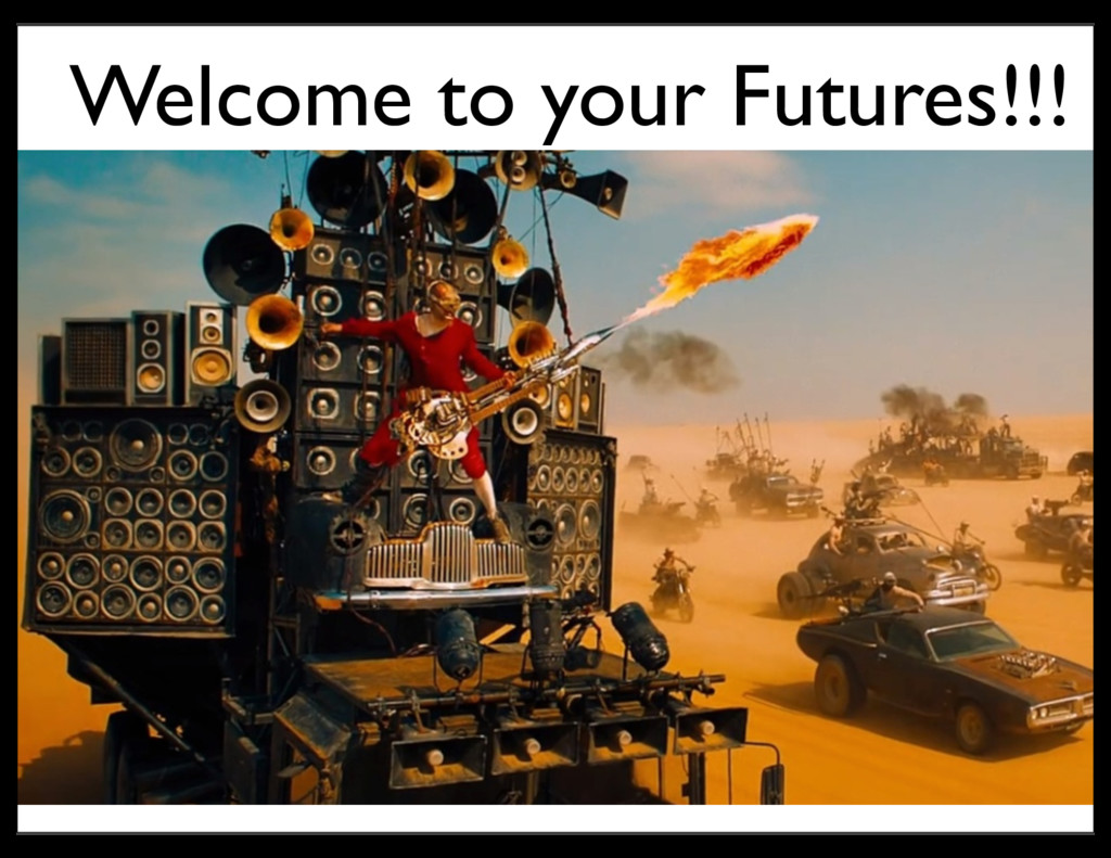 Welcome to your Futures!!!