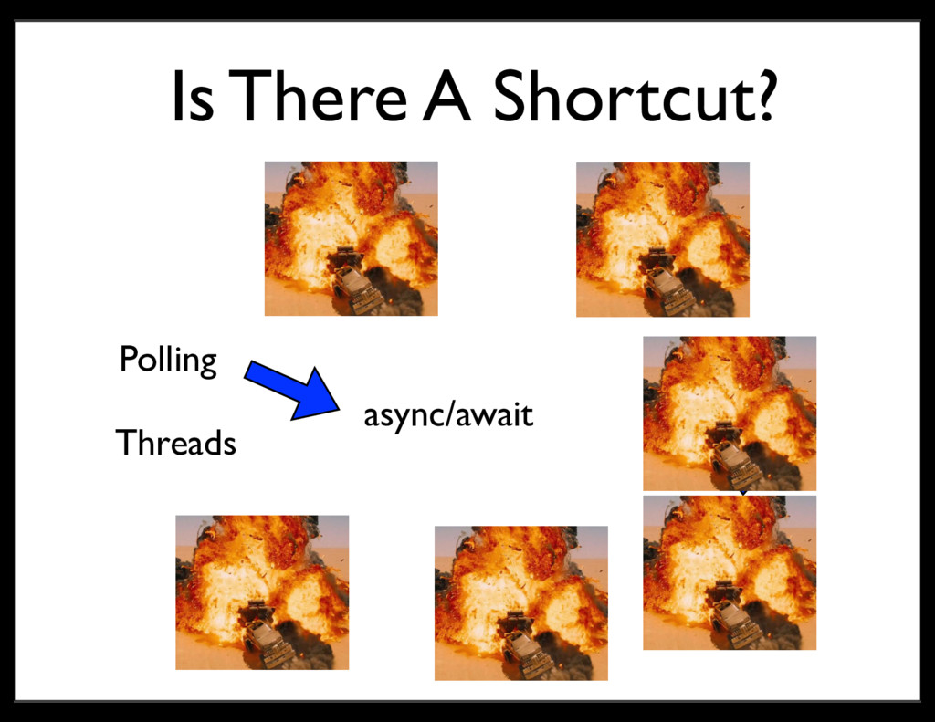 Is There A Shortcut? Threads Polling Callbacks ...