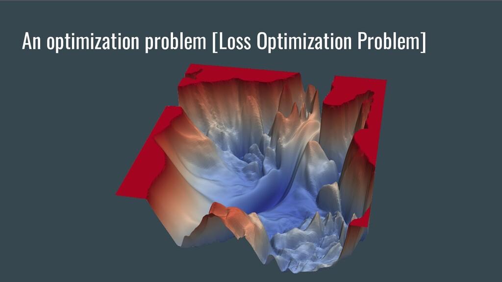 An optimization problem [Loss Optimization Prob...