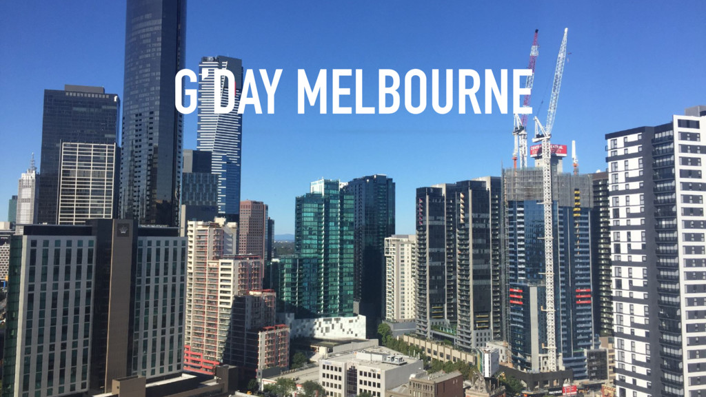 G'DAY MELBOURNE