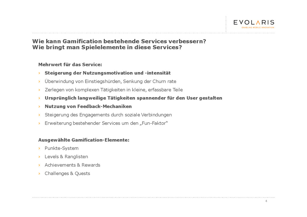 4 Wie kann Gamification bestehende Services ver...