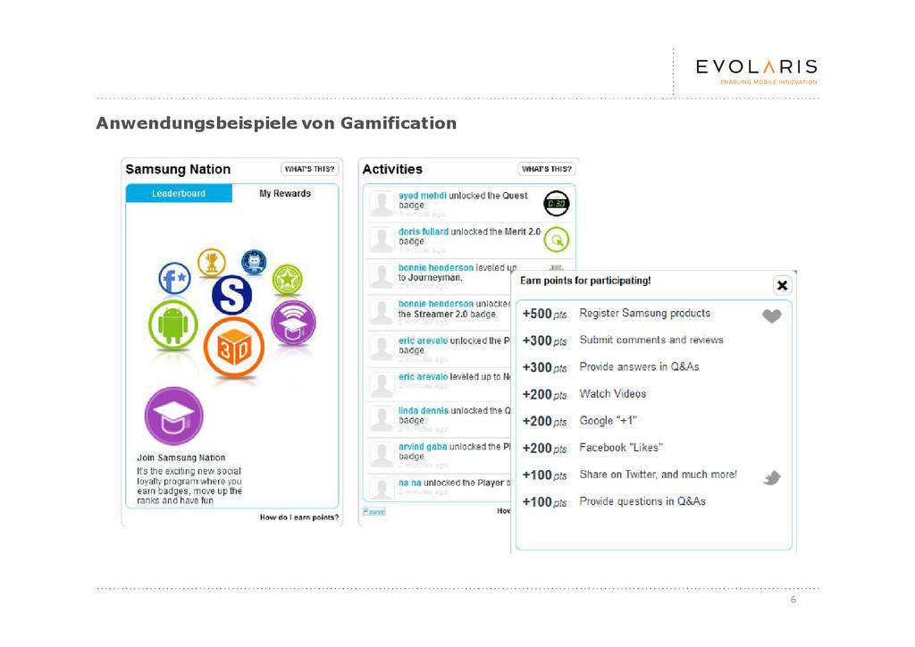 6 Anwendungsbeispiele von Gamification