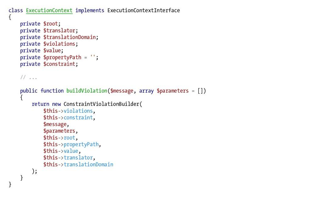 class ExecutionContext implements ExecutionCont...