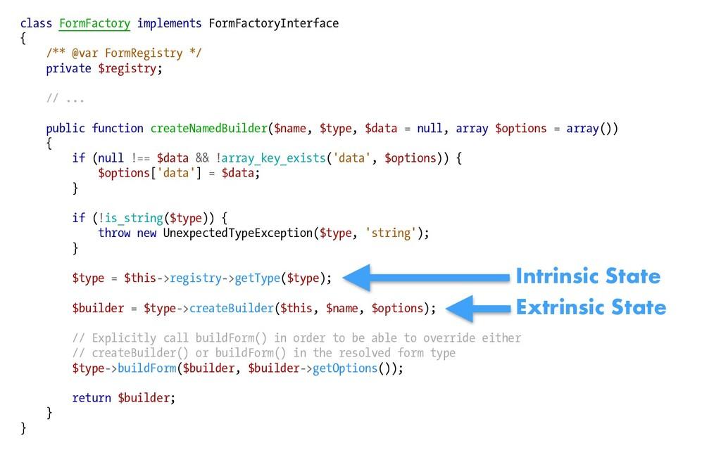 class FormFactory implements FormFactoryInterfa...