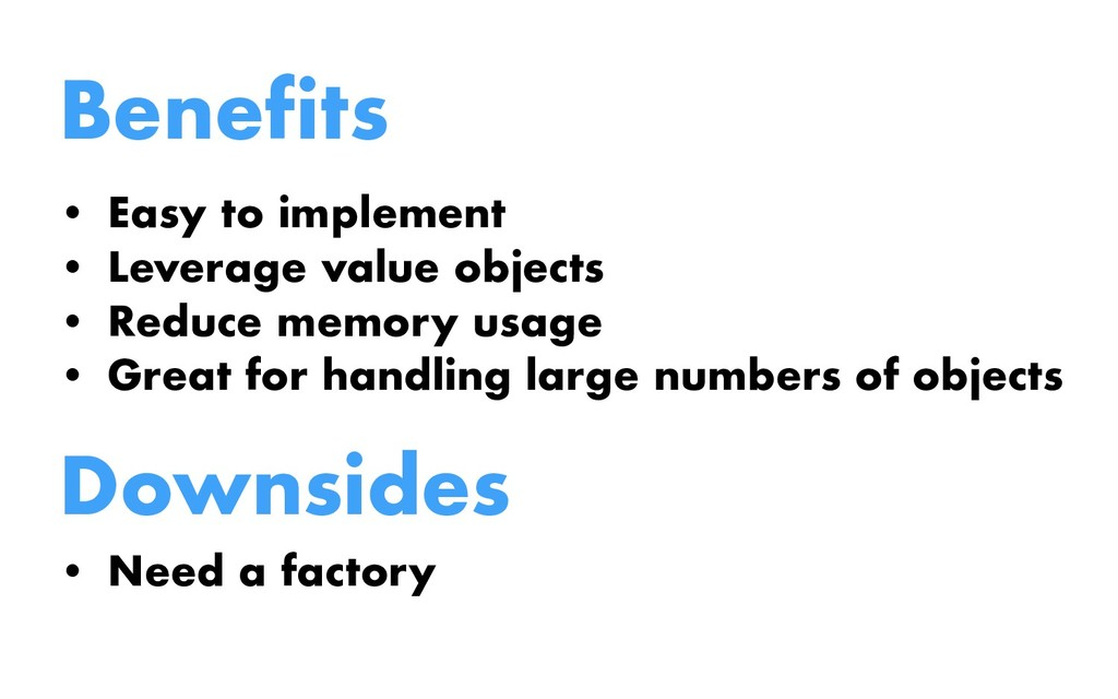 Benefits • Easy to implement • Leverage value o...
