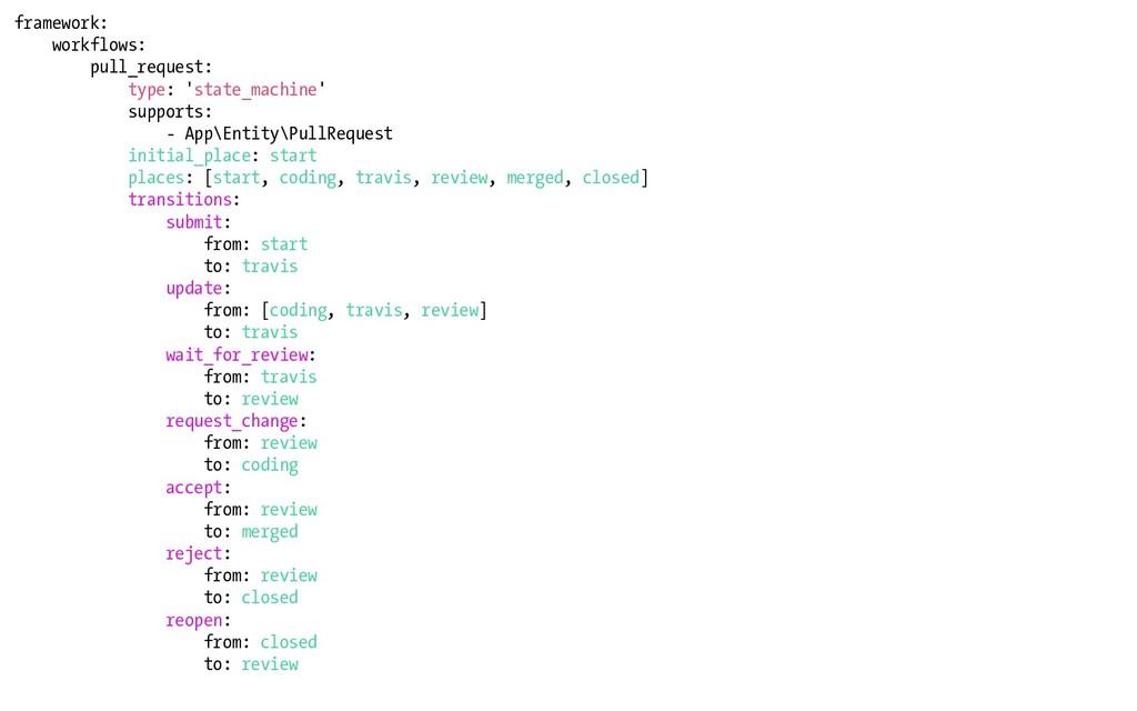 framework: workflows: pull_request: type: 'stat...