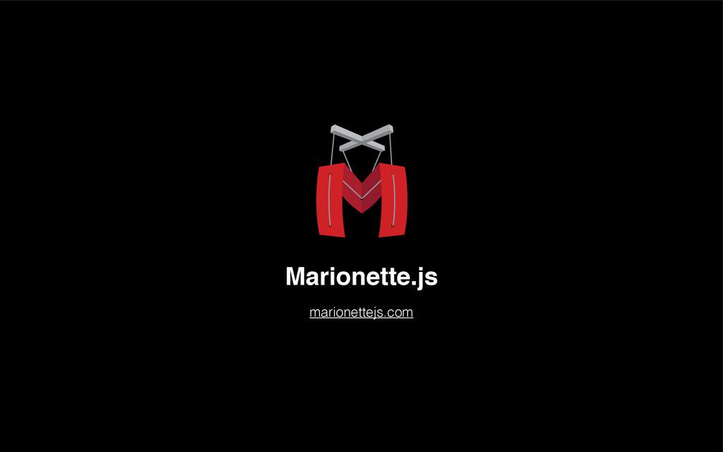 Marionette.js marionettejs.com