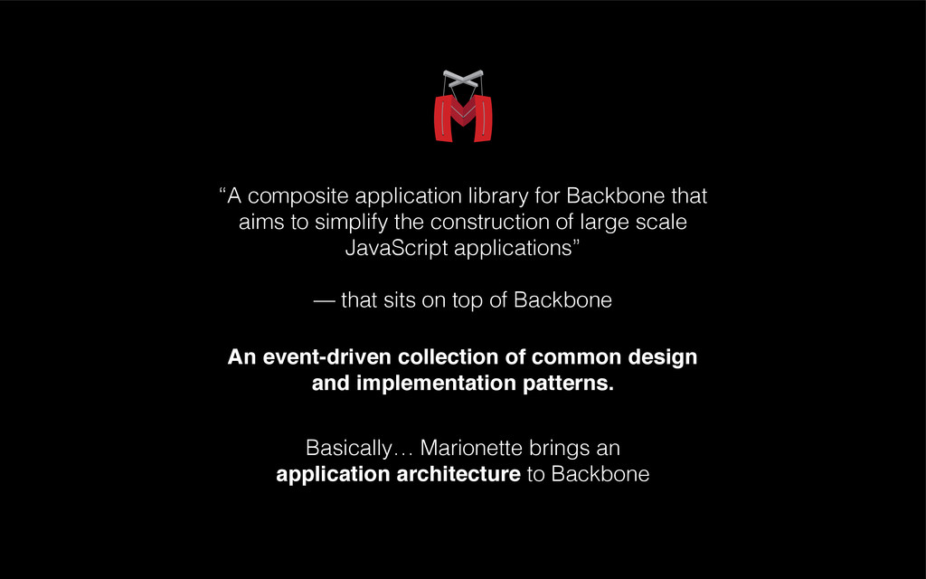 """""""A composite application library for Backbone t..."""