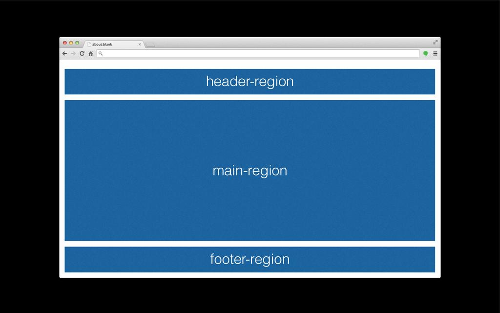 header-region main-region footer-region