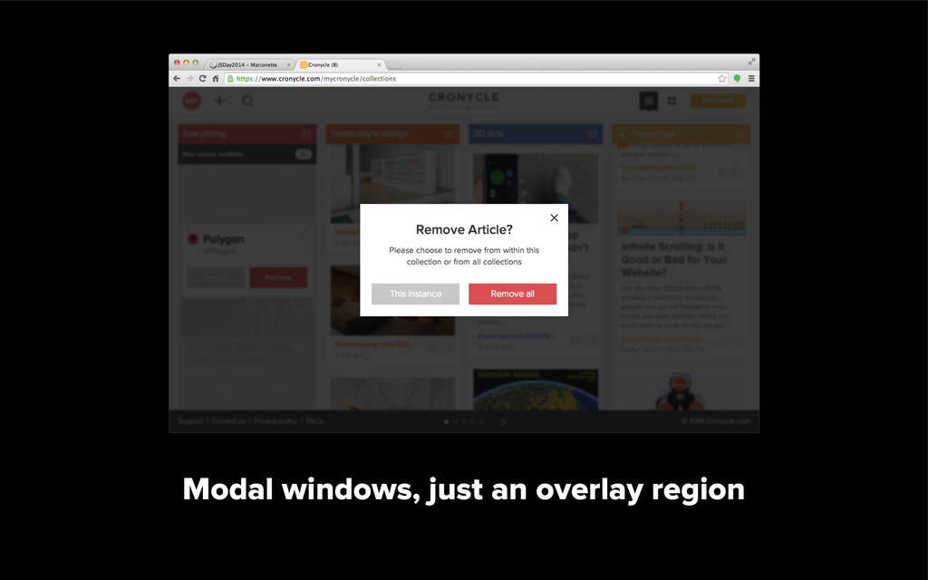 left-sidebar-region with CompositeView
