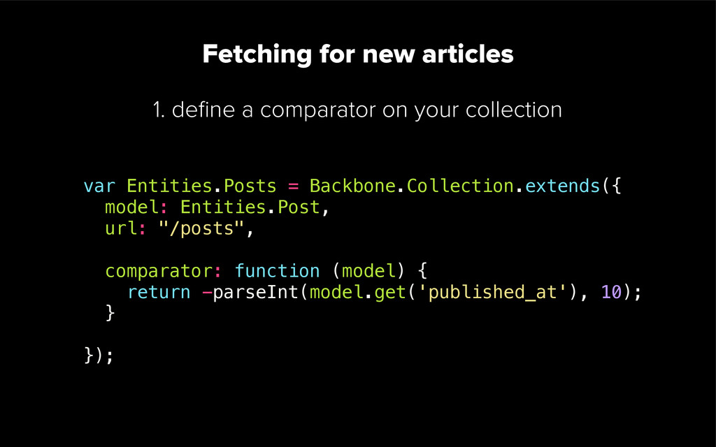 Fetching for new articles