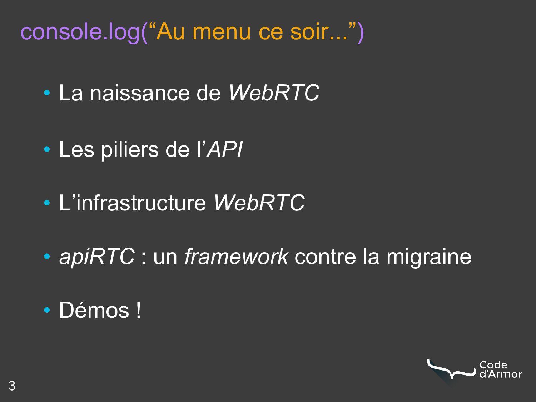 """console.log(""""Au menu ce soir..."""") • La naissanc..."""