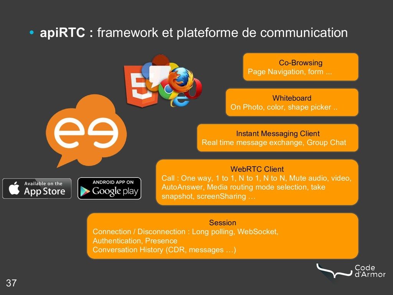37 • apiRTC : framework et plateforme de commun...