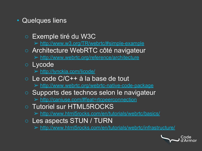 • Quelques liens ○ Exemple tiré du W3C ➢ http:/...