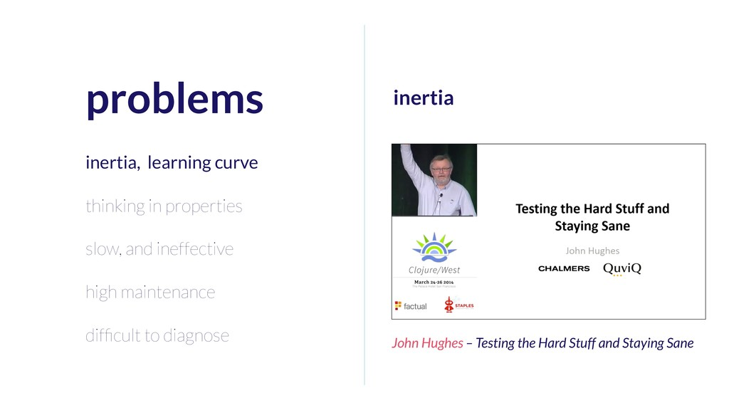 problems inertia, learning curve thinking in pr...