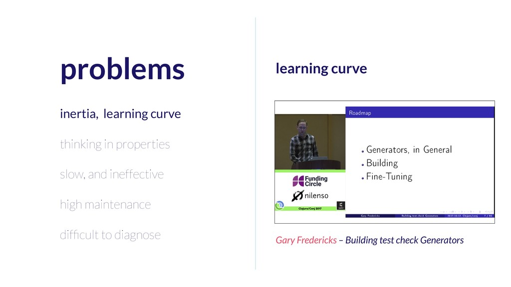 learning curve Gary Fredericks – Building test ...