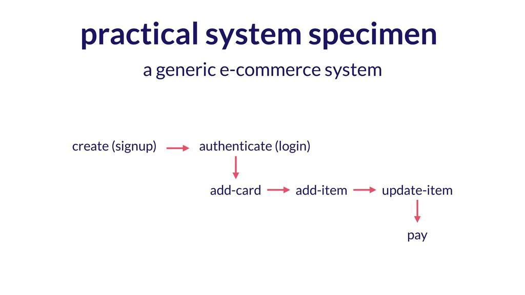 practical system specimen a generic e-commerce ...