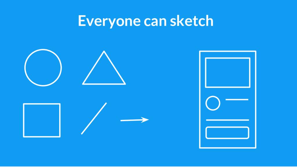 23 Everyone can sketch