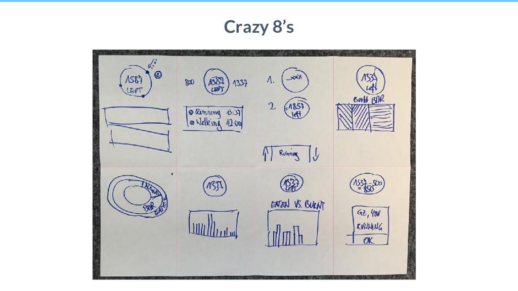 26 Crazy 8's