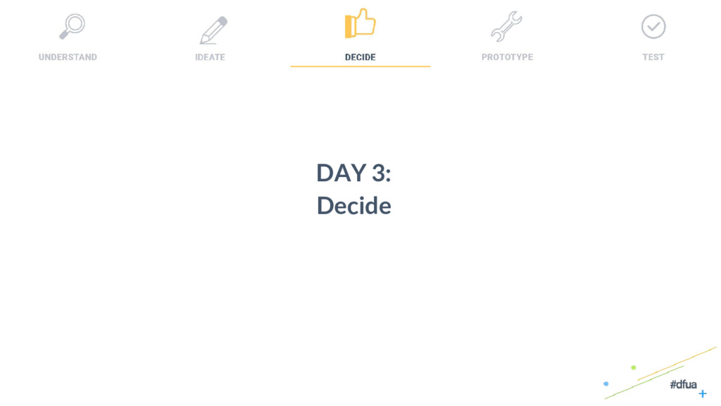 28 DAY 3: Decide