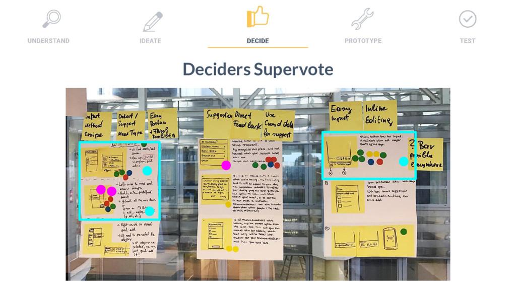 32 Deciders Supervote