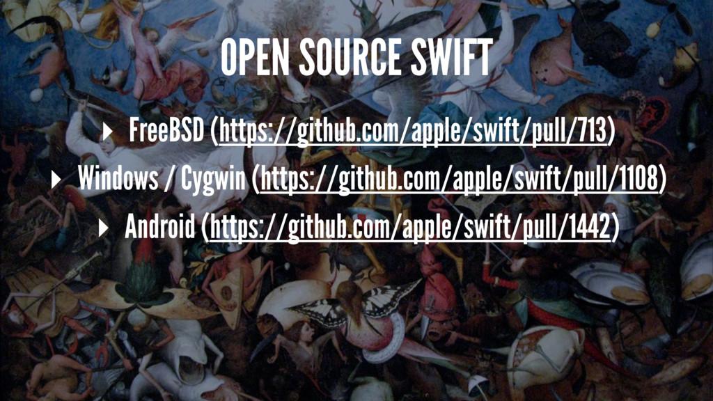 OPEN SOURCE SWIFT ▸ FreeBSD (https://github.com...