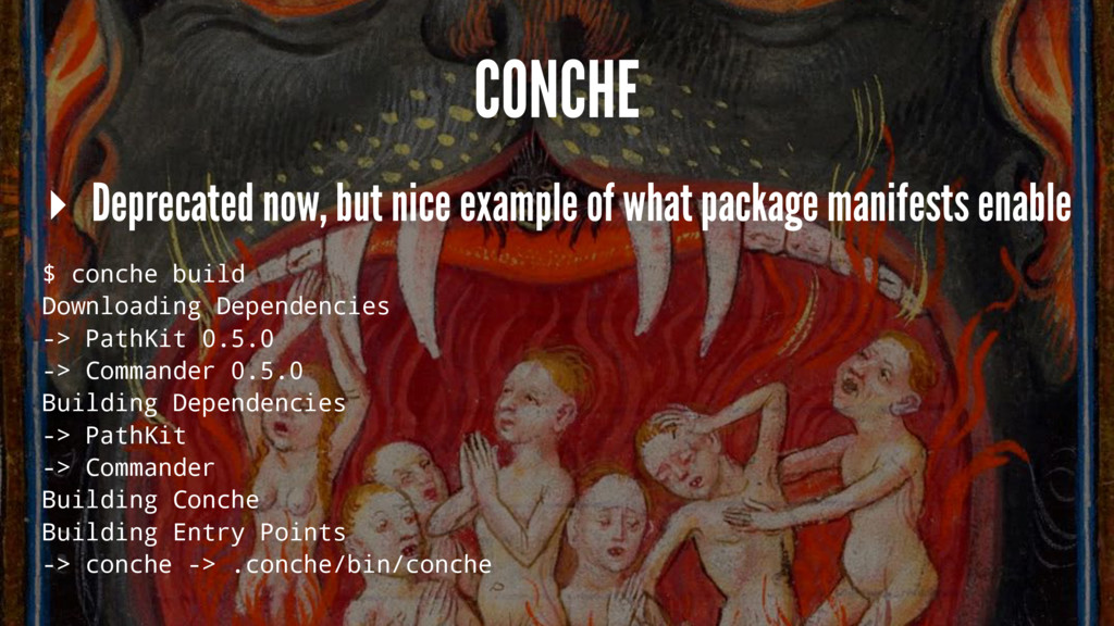 CONCHE ▸ Deprecated now, but nice example of wh...