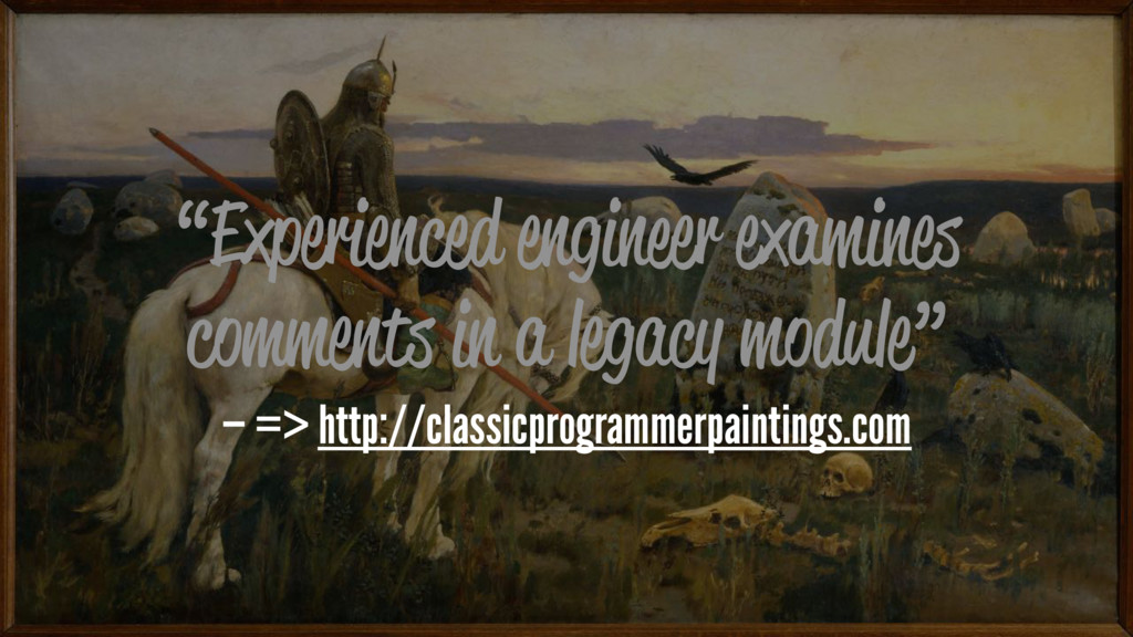 """""""Experienced engineer examines comments in a le..."""