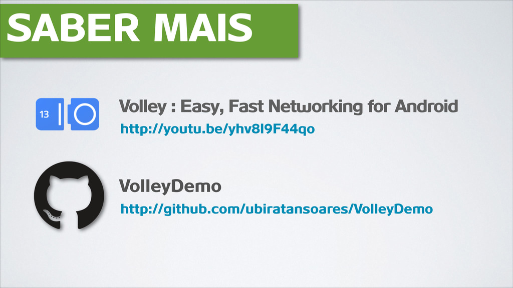 SABER MAIS VolleyDemo http://youtu.be/yhv8l9F44...